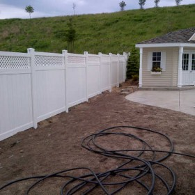 vinyl fencing kitchener waterloo