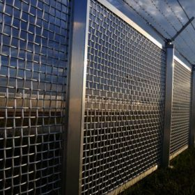 Security fence institution / business