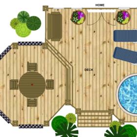 custom deck design smart draw