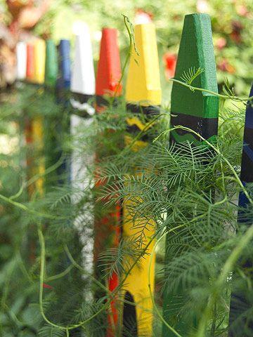 crayola picket fence design