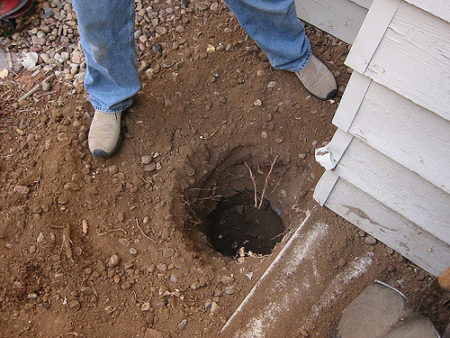 Post hole digging Kitchener
