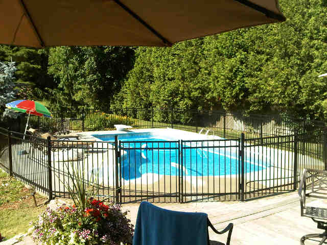 Great tips for pool fence designs in ontario jay fencing pool fence designs samples ornamental fences workwithnaturefo