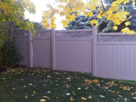Vinyl Fence Panels by Jay Fencing