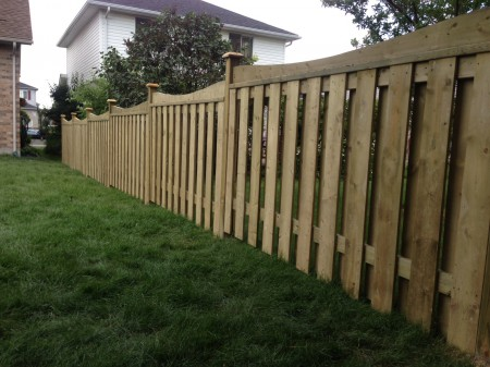 Wood Fence Panels by Jay Fencing