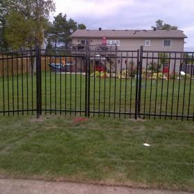 wrought iron fence waterloo