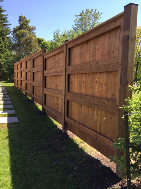 There Isn T Just One Way To Do Vertical Horizontal Boards The Strong And Sy Fence By Jay Fencing Has A Unique Design Without Straying Too Far From