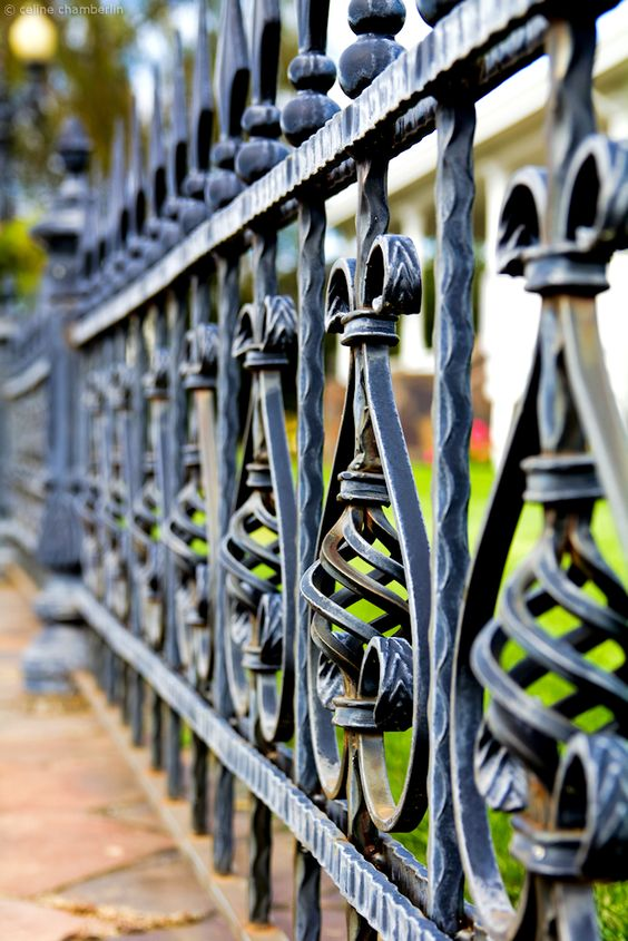 Wrought Iron Fence Pictures 25 Of The Most Eye Catching
