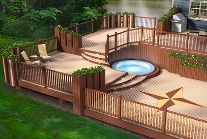 the benefits of composite and vinyl decks jay fencing