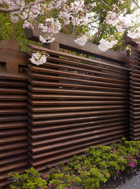 Privacy Fence Ideas - 12 Super Private Designs on Decorations For Privacy Fence id=47453