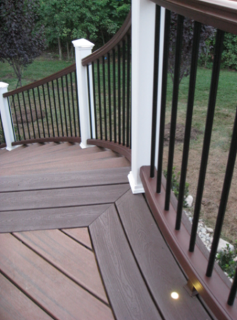 Trex decks essentials guide jay fencing for Composite decking pros and cons