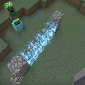 minecraft fence electric aerial
