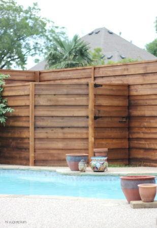 top 10 stunning wood fence designs jay fencing. Black Bedroom Furniture Sets. Home Design Ideas