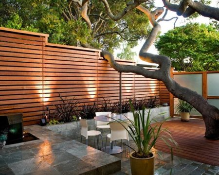 Top 48 Stunning Wood Fence Designs Jay Fencing Unique Backyard Fence Designs